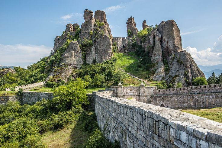 Sandstone Formations At Belogradchik Fortress Bulgaria With