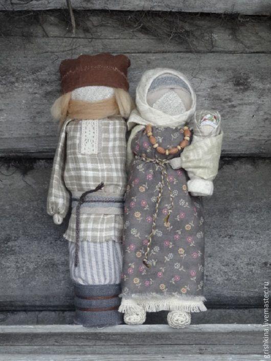 """Купить """"Неразлучники """" кукла- оберег - кукла оберег, неразлучники, народная кукла, свадебный подарок"""