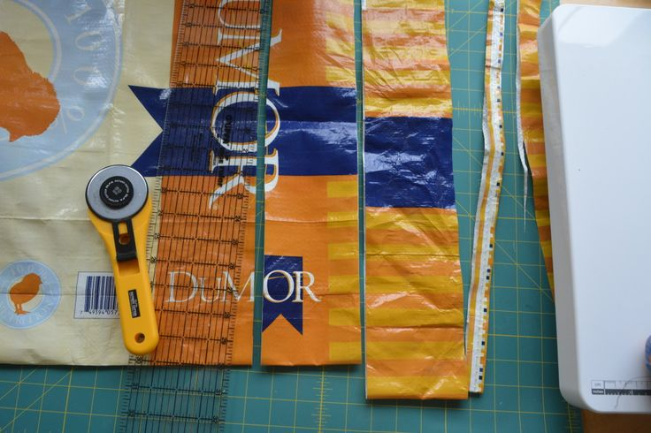 Learn how to recycle feed bags into a cute Tote!