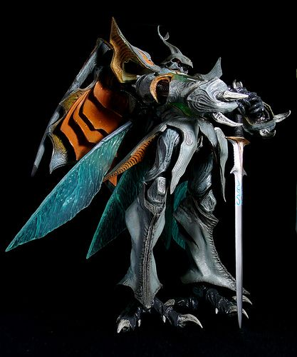 Aura Battler Sirbine (Megahouse) by JOVA CHEUNG, Flickr