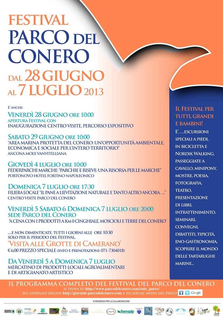 Festival del Parco del Conero - dal 28 giugno al 7 luglio - I° Edizione