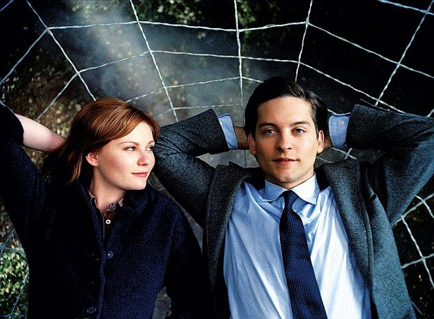 Kirsten Dunst and Tobey Maquire in Spiderman 3