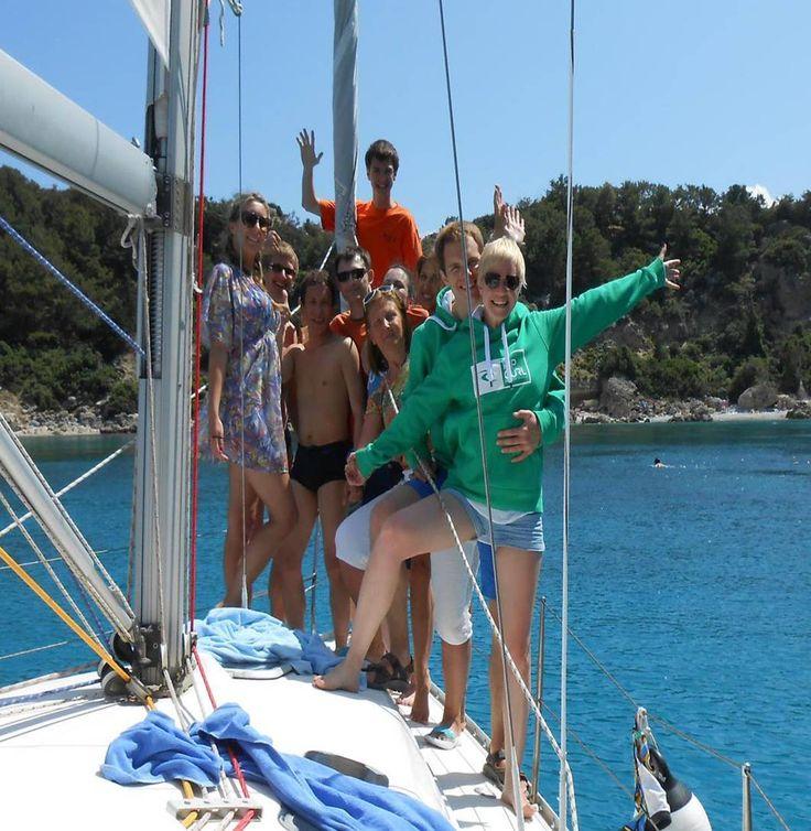 Daysailing from Rhodes | Dagzeilen vanaf Rhodes | Sail in Greece Rhodes | sail-in-greece.net