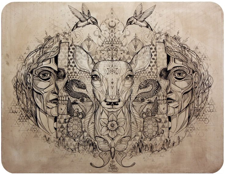 The Song of the White Deer - David Hale collaboration