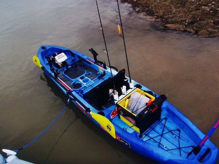 17 best images about 2014 ascend fs12t str8yakn on for Fishing canoe setup