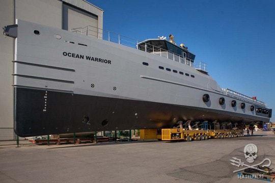 Un nouveau patrouilleur pour Sea Shepherd