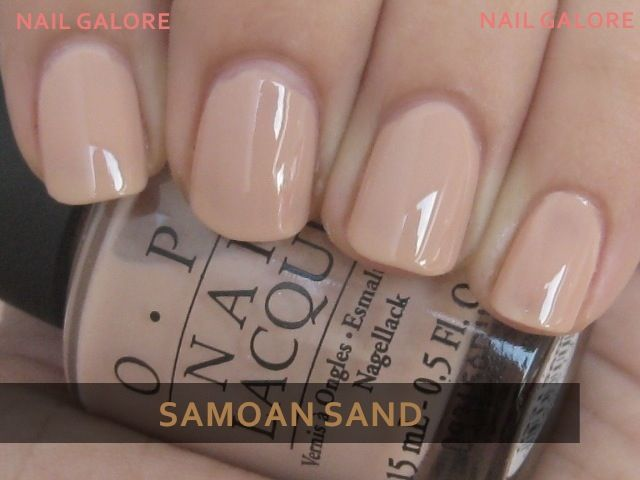 I love a good nude nail polish! It gives a classy look, and goes with almost everything! #nails #beauty #OPI