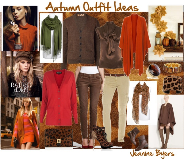 """""""Autumn Outfit Ideas"""" by jeaninebyers on Polyvore"""