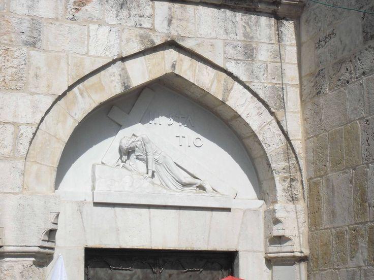 Eine Station auf der Via Dolorosa