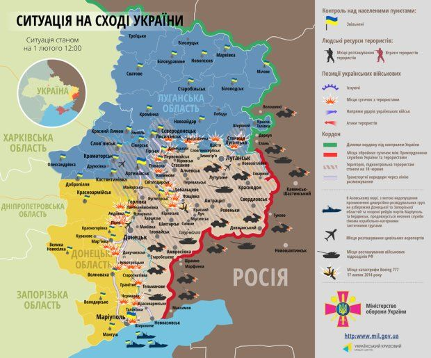 Donbas. Rosjanie na pierwszej linii frontu. Najcięższe walki o Debalcewe i Mariupol [PUNKTY STRATEGICZNE]