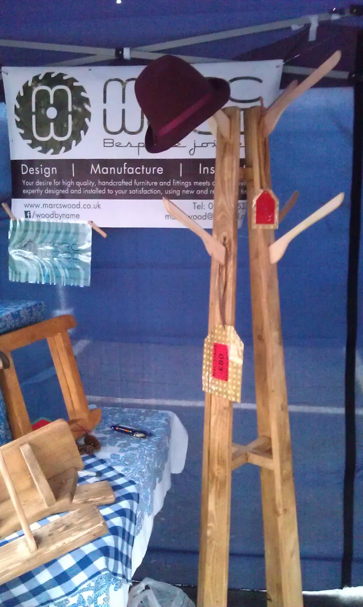 Our stall at Wincanton Town Market, Somerset -  November 2013 Find out more at https://www.facebook.com/woodbyname?ref=hl #farmhouse #Etsy #rustic #reclaimed  #wood #interiors #UK #handmade #design #country #Gift #Christmascraftfair #villagefair #craftfair #traditional