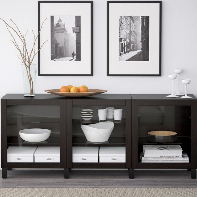 les 25 meilleures id es de la cat gorie buffet bas ikea. Black Bedroom Furniture Sets. Home Design Ideas