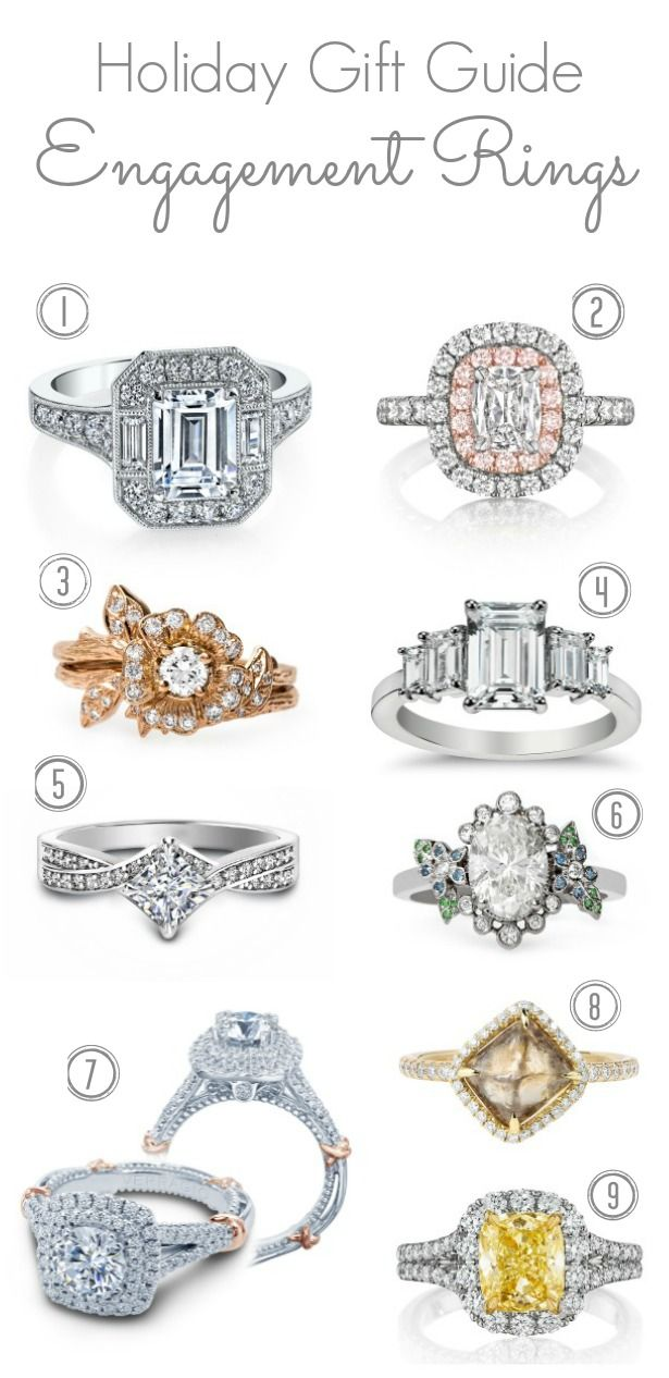 Holiday Gift Guide : Engagement Rings