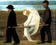 The Wounded Angel from 1903  by Hugo Simberg
