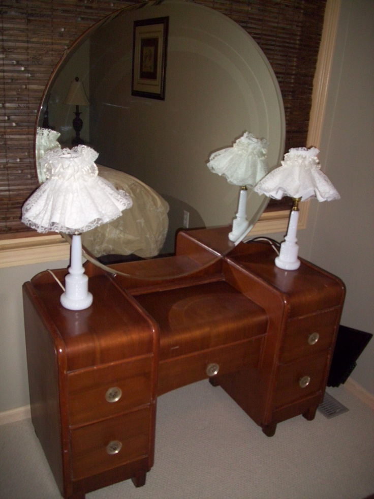 Dresser With Vintage Mirror Reminds Me Of My Grandmothers