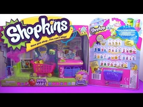 SHOPKINS Small Mart Exclusive - Special Edition Frozen 12 pack Surprise ...
