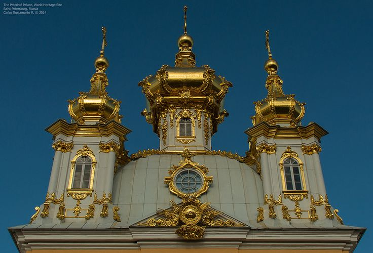 The Peterhof Palace, World Heritage Site.