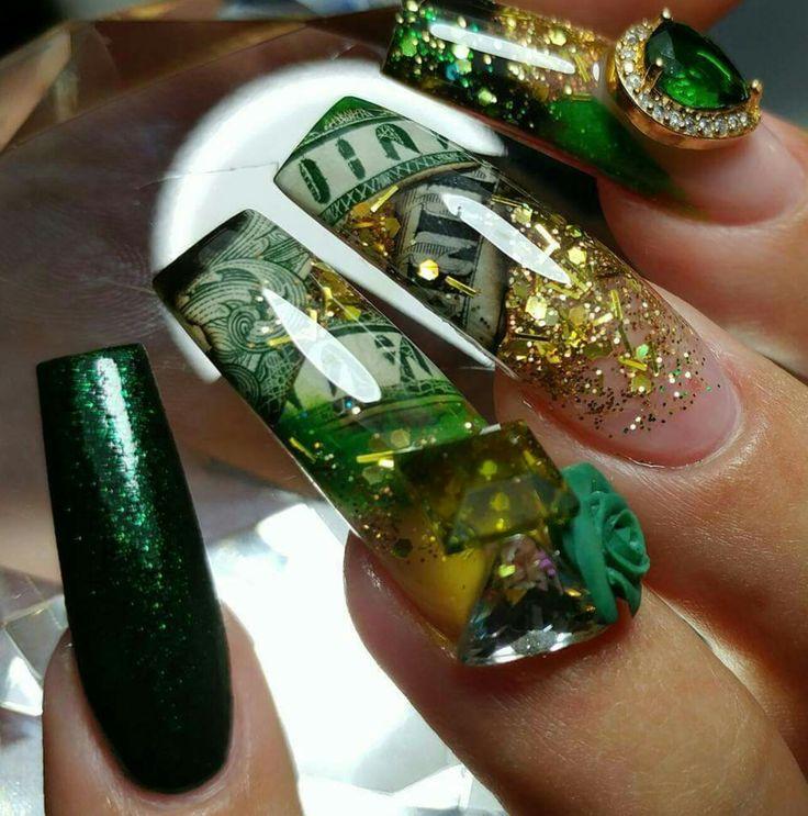 Mejores 12 imágenes de nail designs en Pinterest | Diseños ...
