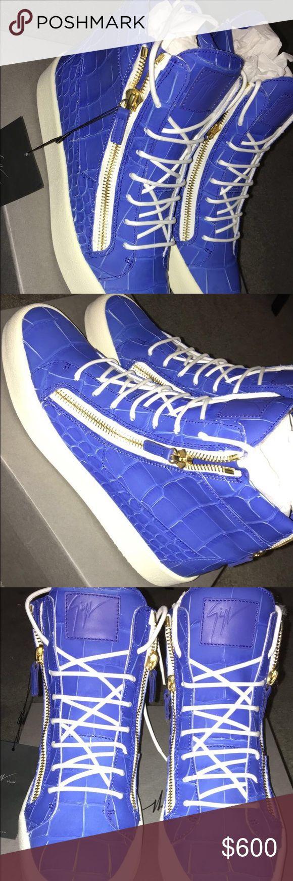 giuseppe zanotti Brand new never worn men shoes Giuseppe Zanotti Shoes Sneakers