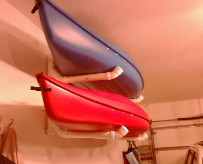 best 25 kayak storage ideas on pinterest canoe storage. Black Bedroom Furniture Sets. Home Design Ideas