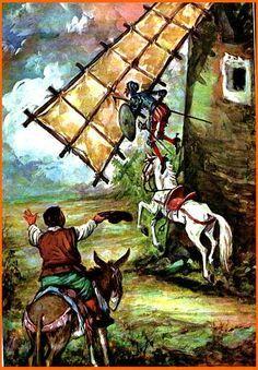 El Quijote en imágenes comentadas | Plasmaciones y representaciones visuales del universo quijotesco. Elaborado por alumnos de 1.º bach. del INS Ramon Coll i Rodés (Lloret de Mar)