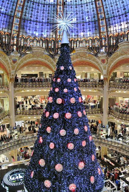 Galeries Lafayette # Paris # France # luxurious shopping gallery