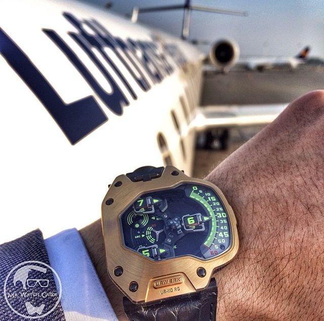 UR-110 RG, URWERK by Mr Watch Guide