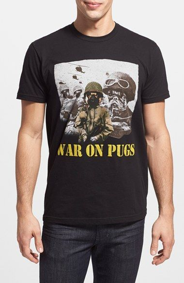 Kid+Dangerous+'War+on+Pugs'+Graphic+T-Shirt+available+at+#Nordstrom