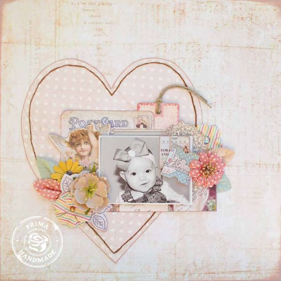 Presenting: The Princess Collection by Jodie Lee-Princess Layout by Delaina Burns for Prima