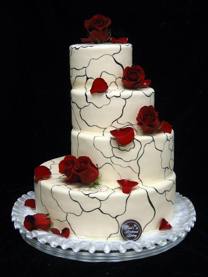 Modern Wedding Cakes Freed S Bakery Las Vegas
