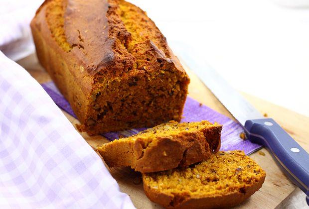 Ismét egy tökös édes: Fűszeres sütőtökkenyér dióval