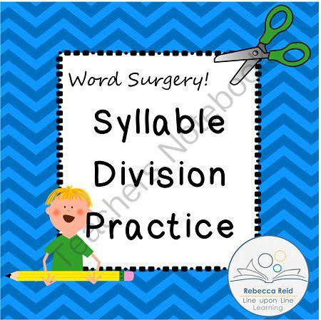 Syllabic division
