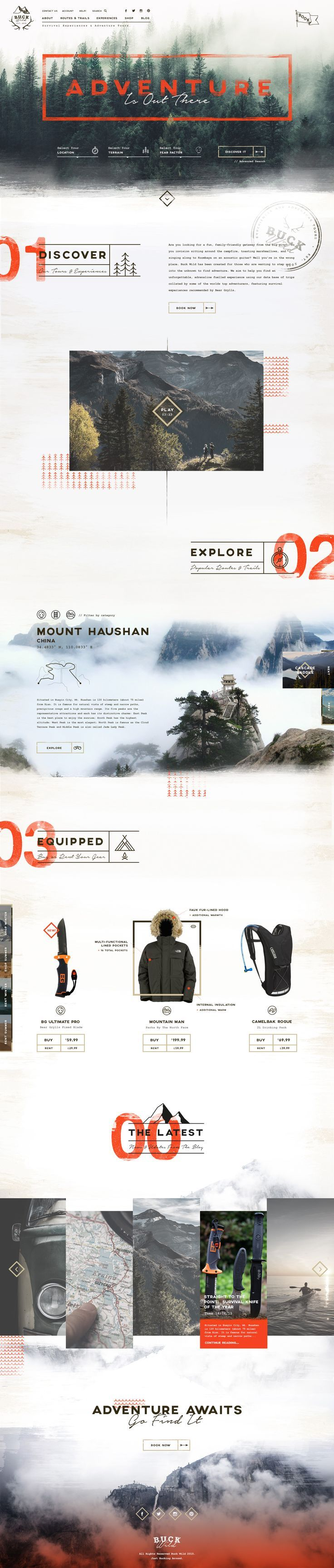 Web design inspiration | #1278
