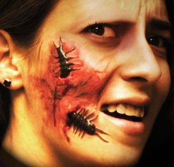 gory+halloween+prosthetics | You are here: / Halloween Carnival Make Up / Latex Wounds, Horns, Ears ...