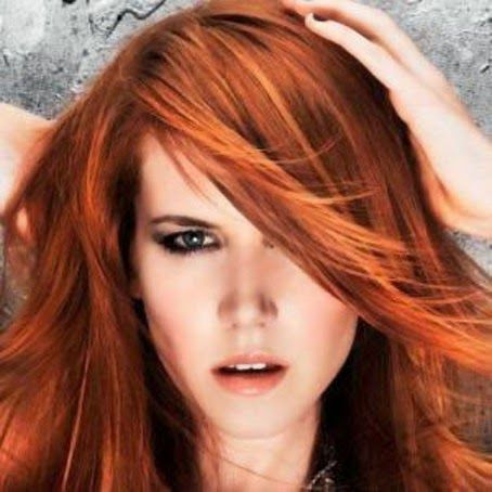 capelli rossi ramati e bronzei