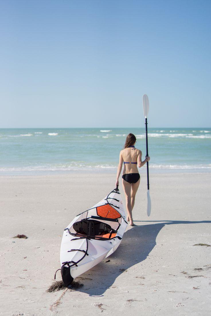 Gear Review: Oru Kayak Beach Foldable Kayak - REI Blog - something to take to the beach www.watersportsforfun.com
