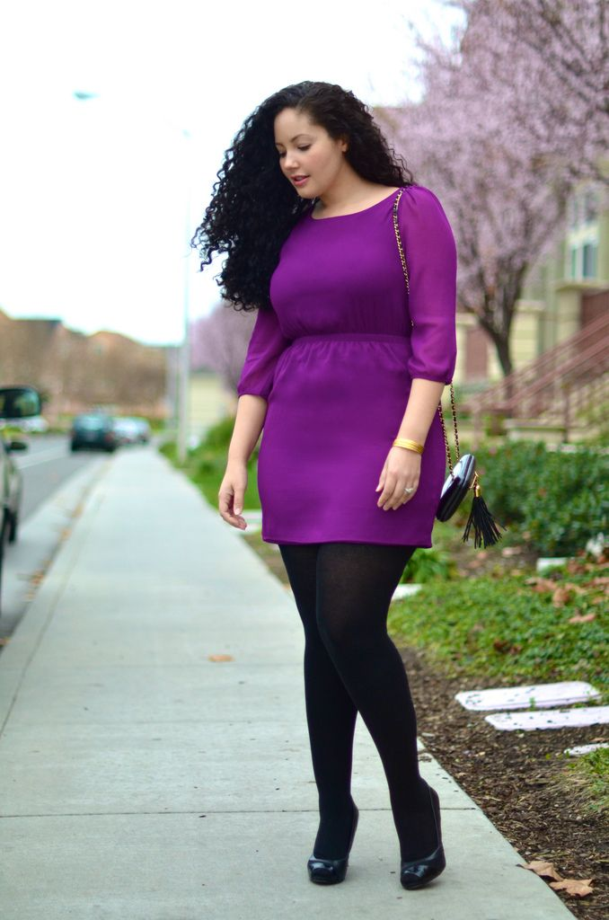Love the style, I would wear it. This is Tanesha Awasthi from the blog Girl with curves.   http://girlwithcurves.tumblr.com/