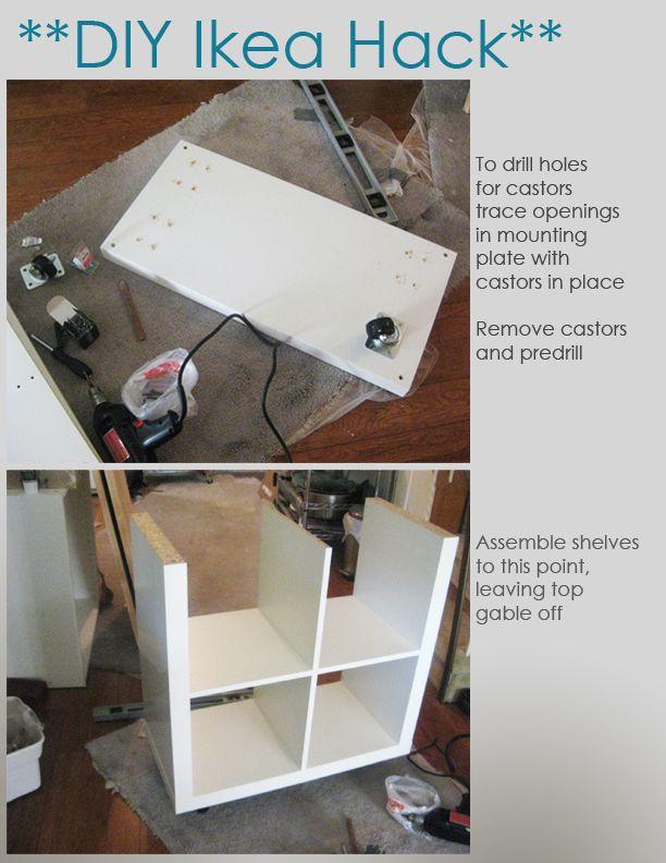 Diy Ikea Hack Kitchen Island Tutorial Construction 1