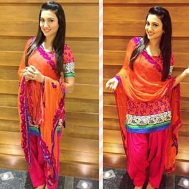Gauhar khan in punjabi suit for oyaalg promotions #femalecrush