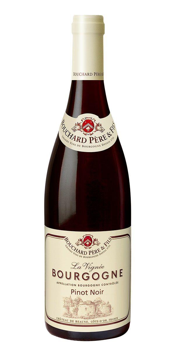 Nyanserat Bourgogne Rouge med fokus på röda bär och örter.