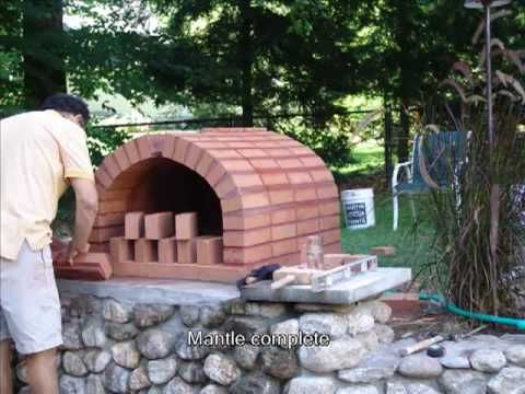 ▶ Brick Pizza Oven - YouTube