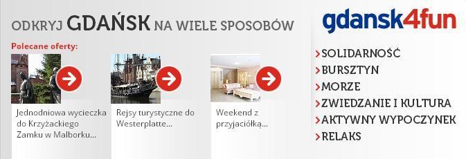 Zaplanuj pobyt w Gdańsku lub zobacz, co możesz robić będąc już w mieście. Więcej informacji znajdziesz na http://www.gdansk4fun.pl/ : )