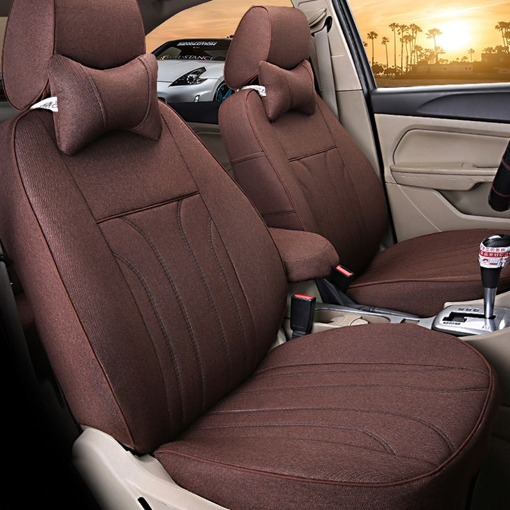 Summer Solstice, Car Seat Covers Pair, 2 Front Seat Covers