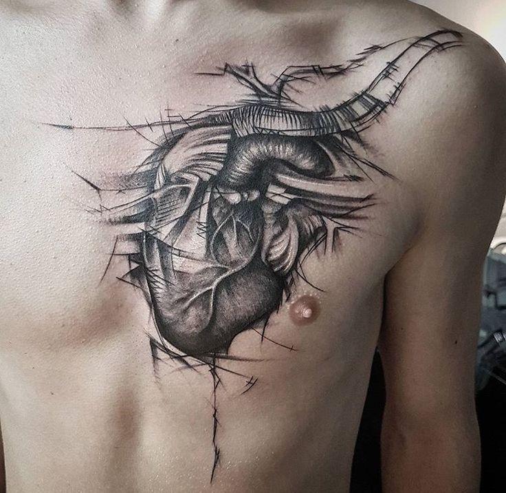 1152 best heart tattoos images on pinterest heart. Black Bedroom Furniture Sets. Home Design Ideas
