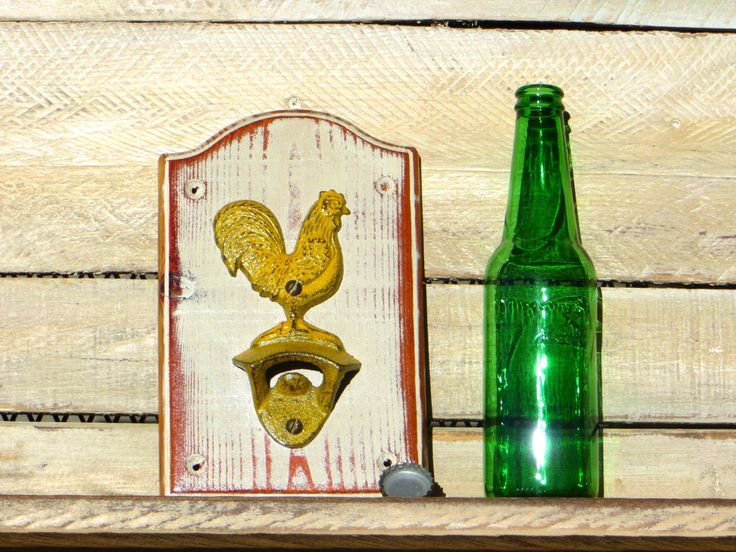 26 best Rustic Bottle Openers images on Pinterest | Bottle openers ...