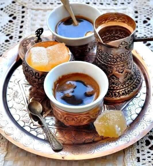 How to prepare Bosnian coffee. Recipe for two esspresso cups