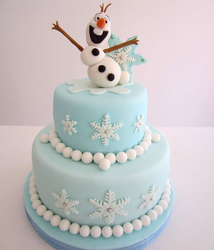 Frozen birthdaycake http://www.mygreatestparty.com/cat/c1/partys/disney