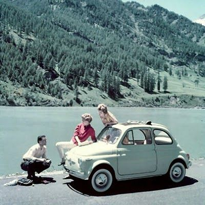 Fiat 500 - James would like one of these.