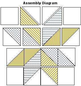 """big star quilt pattern   Big Star Quilt - Free Pattern - Handcrafting With Love. Use patriotic fabrics; cut larger squares (say 14""""); then add borders to make right size."""
