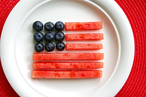 Easy #Healthy #Patriotic Snack
